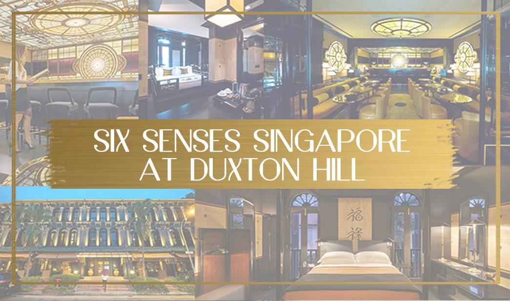 Six Senses Singapore at Duxton Hill main