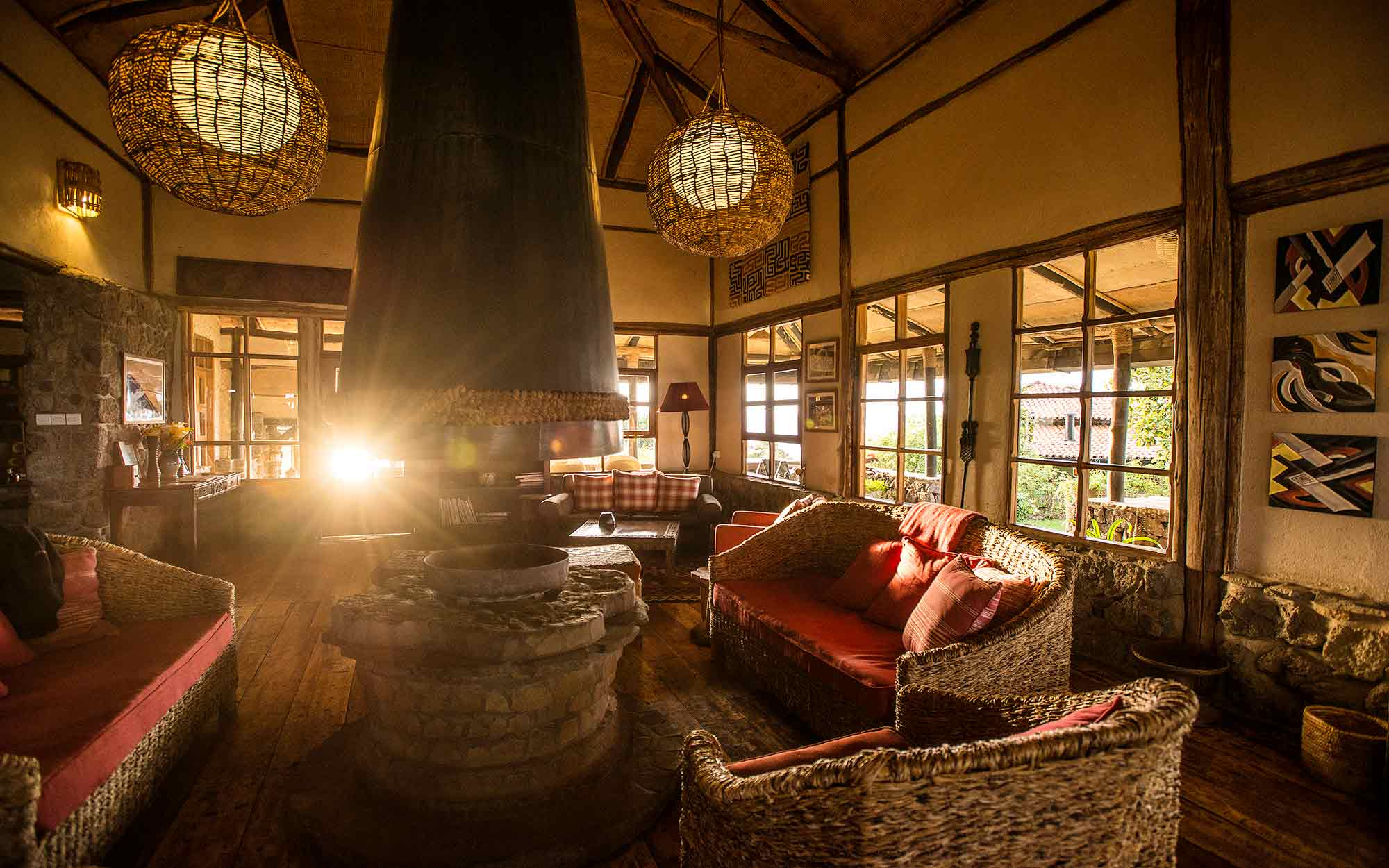 Virunga Lodge Hotel in Volcanoes National Park