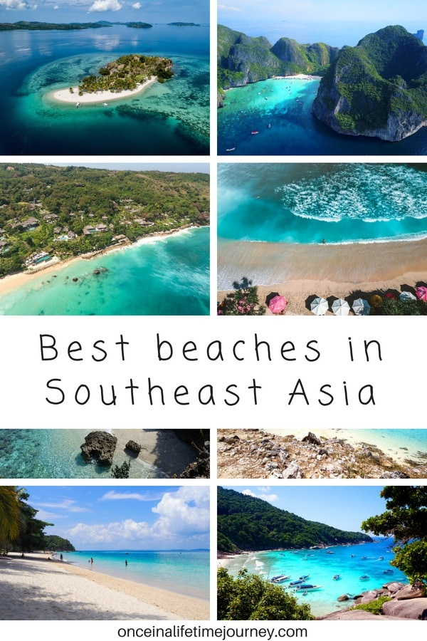Best beaches in Southeast Asia Pin