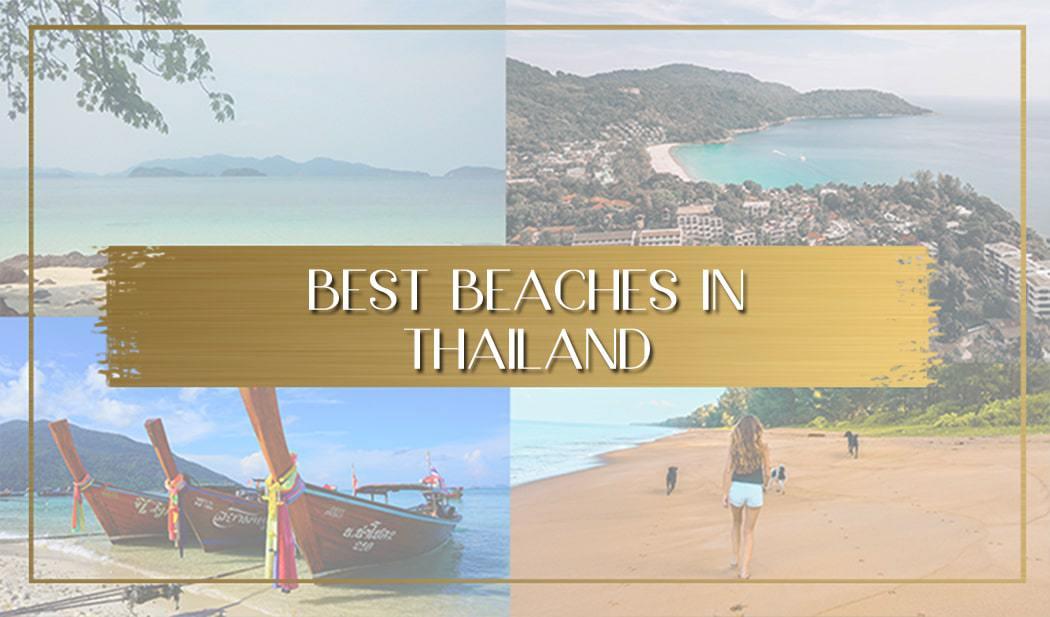 Best beaches in Thailand main