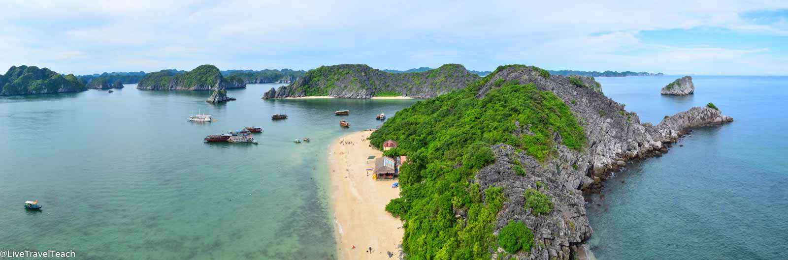 Monkey Beach in Vietnam