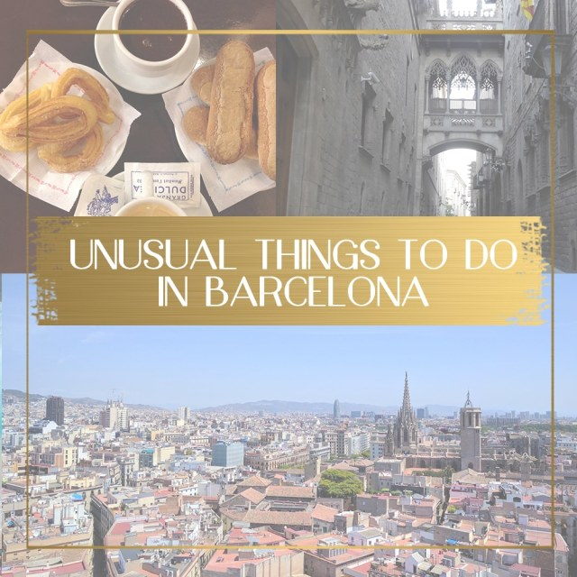 Unusual things to do in Barcelona feature