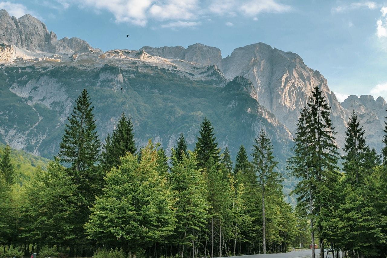 Albania's mountains