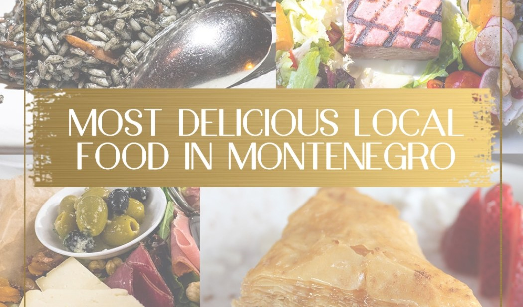 Local Food in Montenegro main