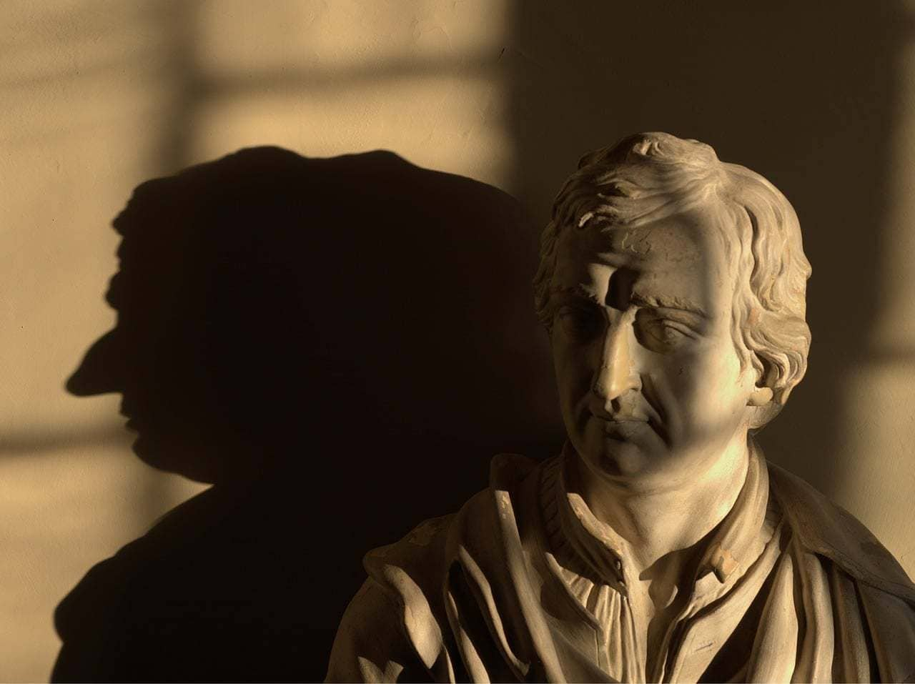 Lord Byron's bust