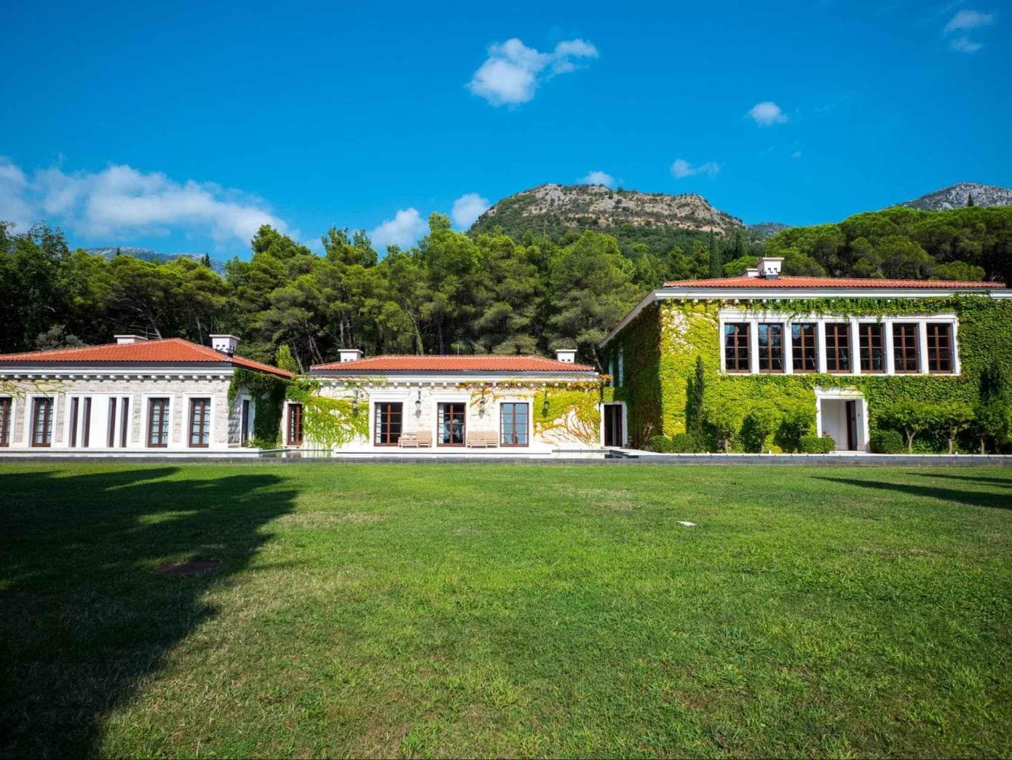 Spa building at Aman Sveti Stefan