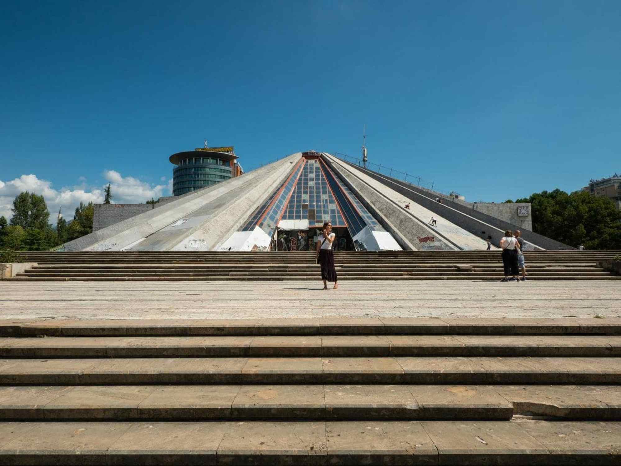 Tirana's Pyramid