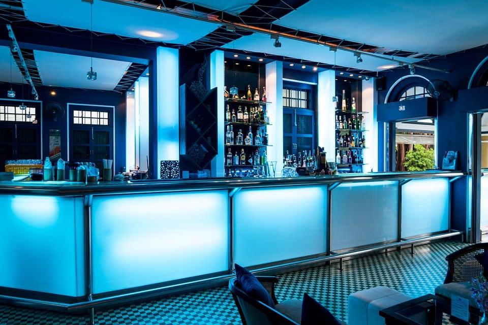 Bar at the Blue Elephant