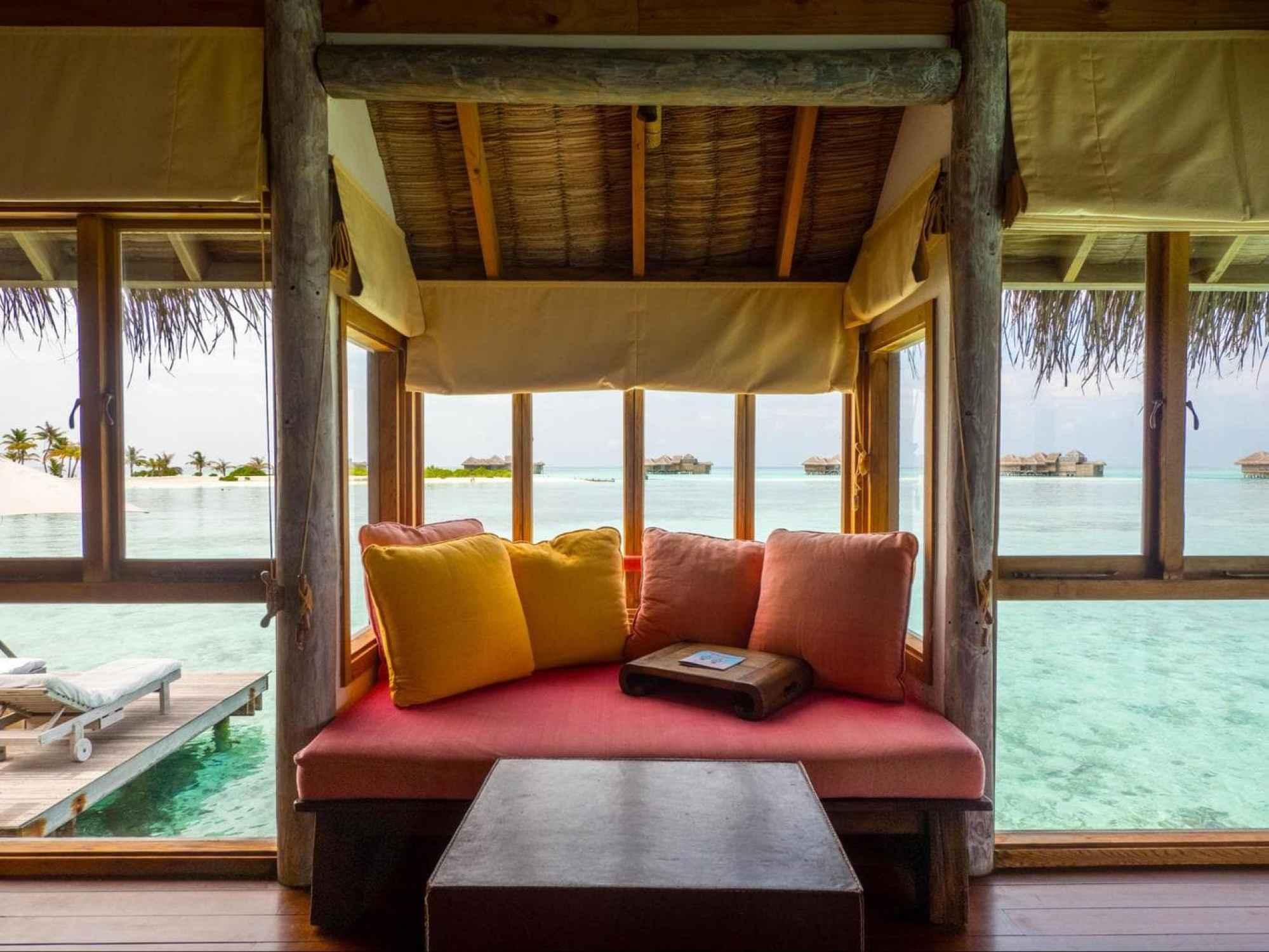Bedroom at Gili Lankanfushi Villa Suite 02