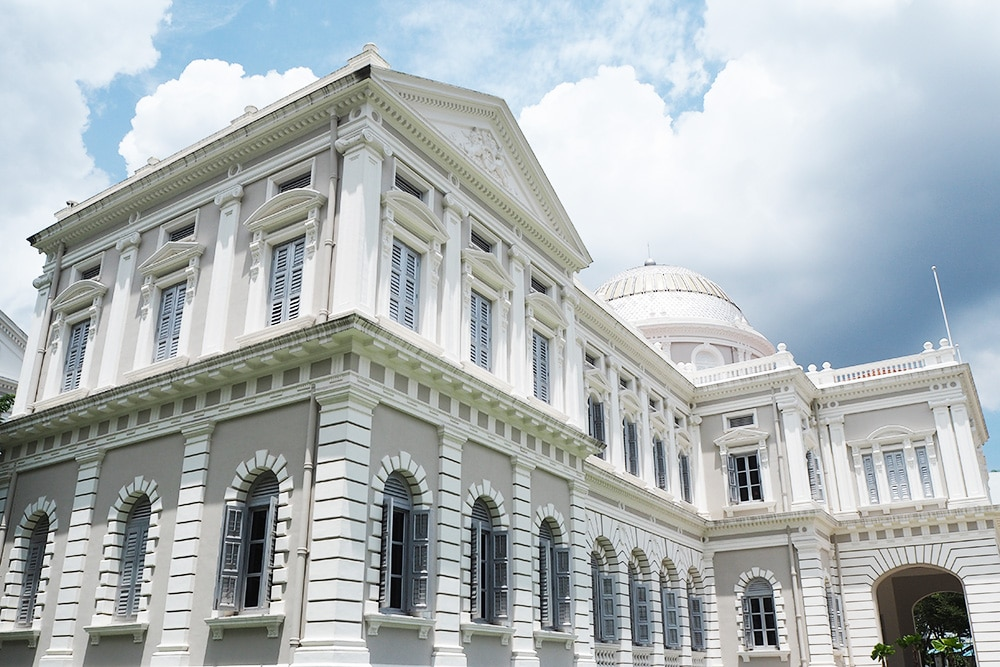 Opened in 1887, the National Museum of Singapore is the country's oldest museum