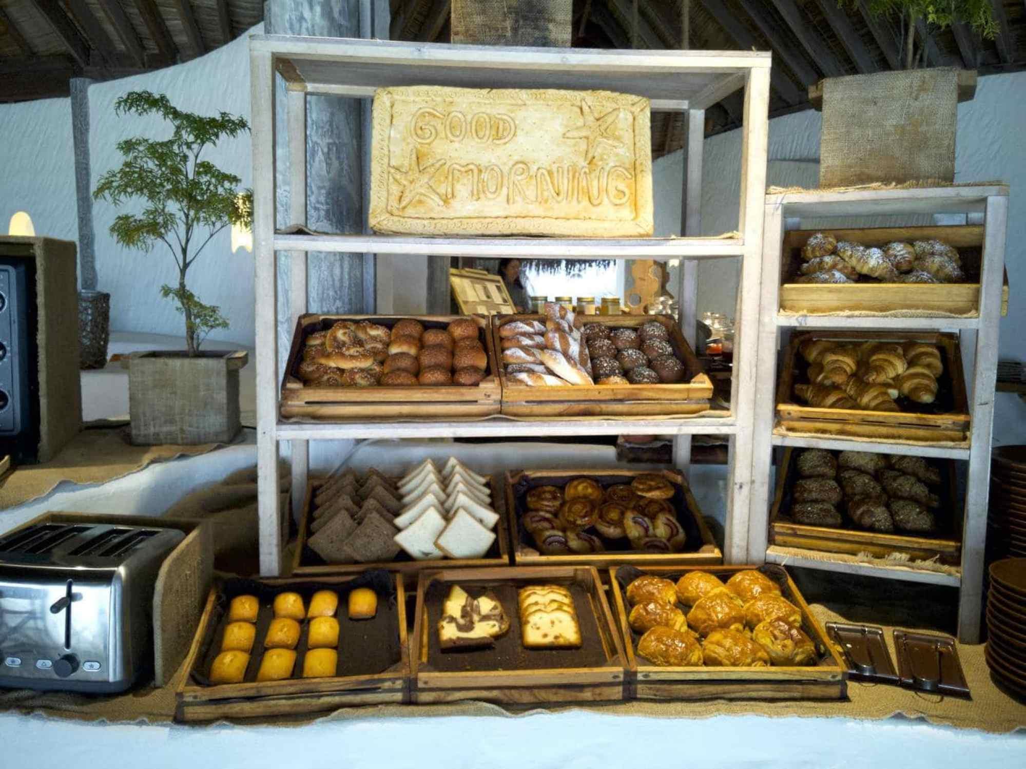 Pastry selection at Kashiveli