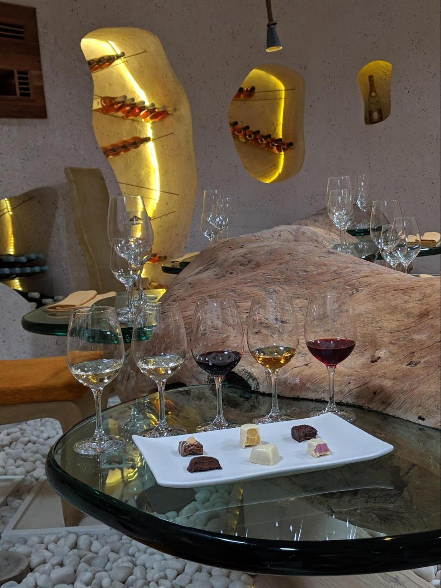 Wine and chocolate pairing at Gili Lankanfushi
