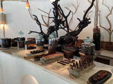 All the chocolate at Soneva Fushi