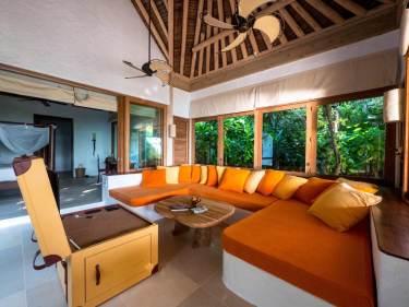 Bedroom in our villa at Soneva Fushi 02