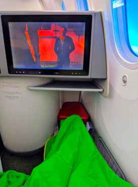 New Ethiopian Airlines Boeing 787 legroom