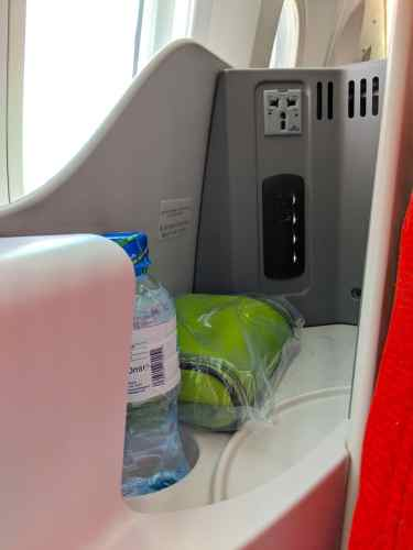 New Ethiopian Airlines Boeing 787 storage