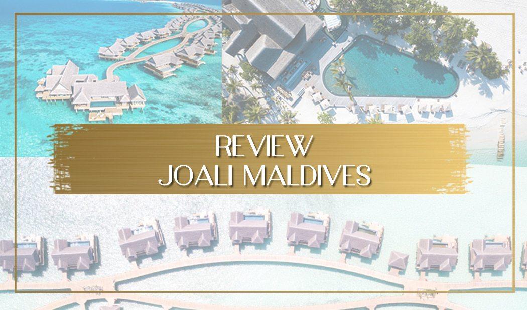 Review of Joali Maldives main