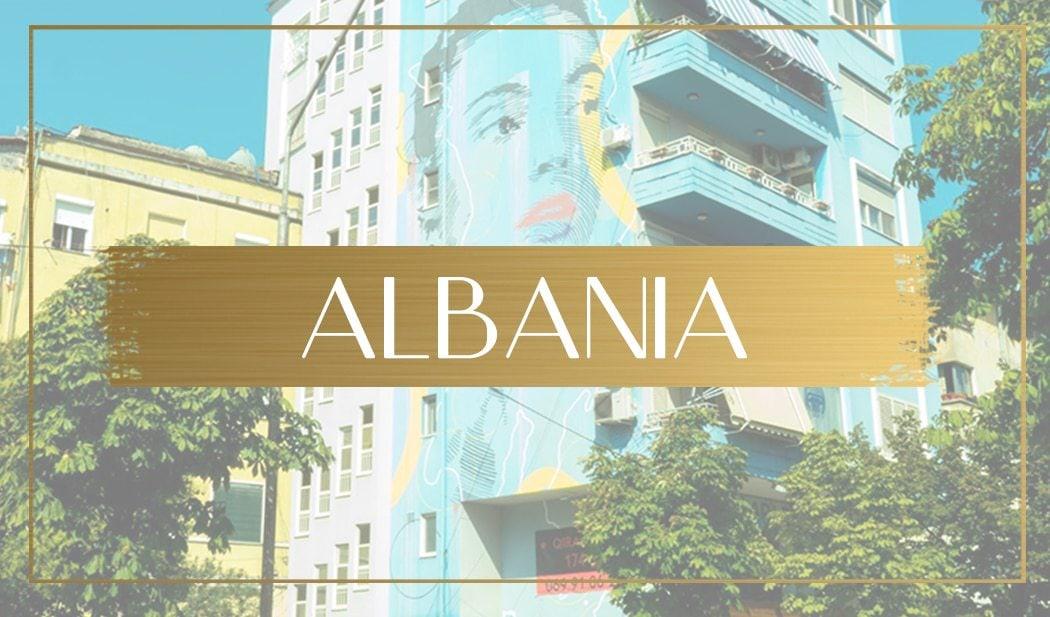 Destination Albania main