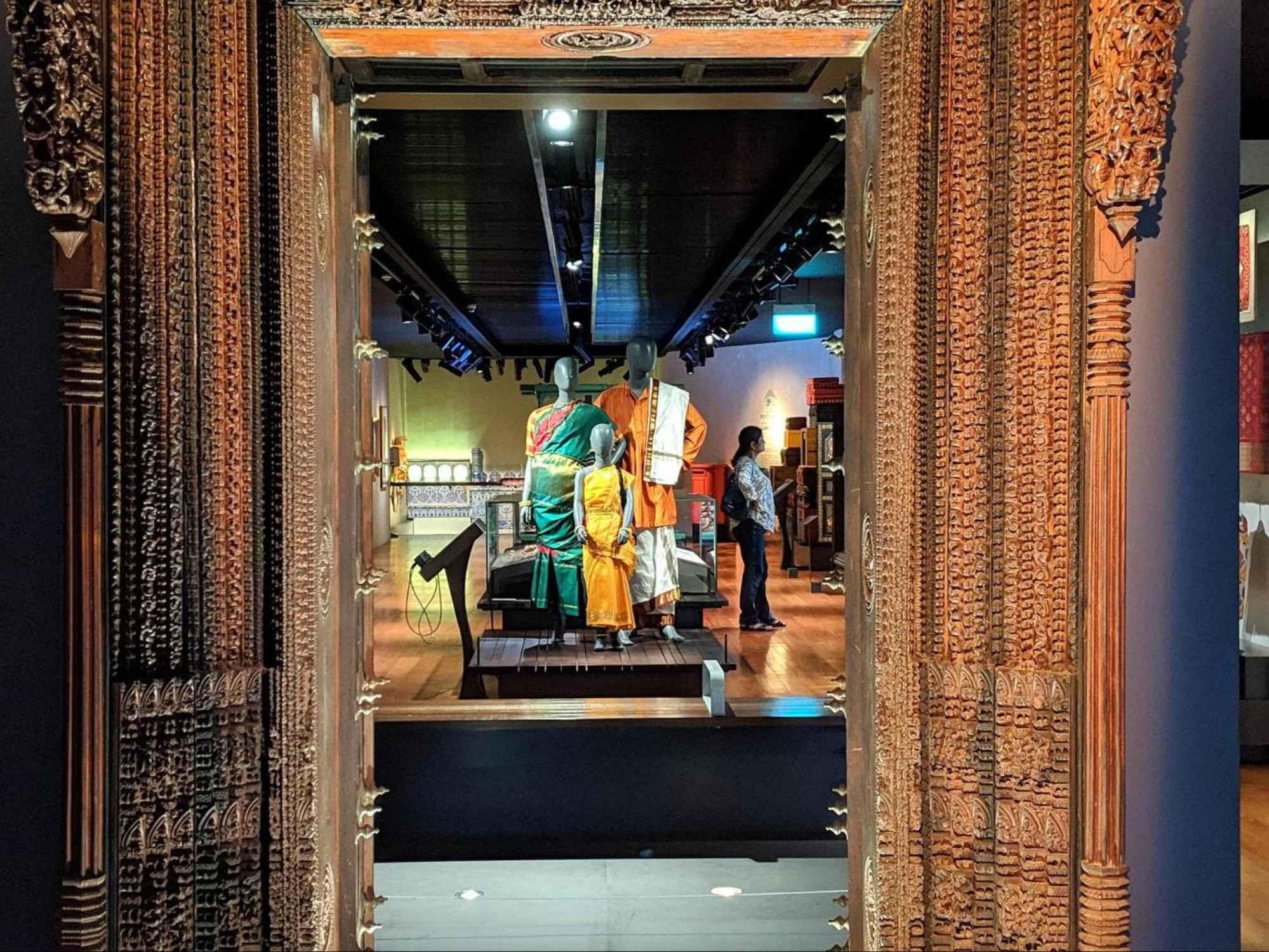 Indian Heritage Center display