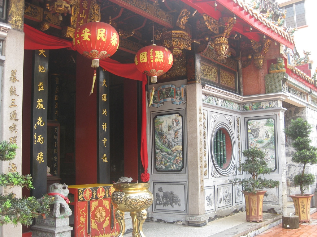Leong San See (Dragon Mountain) Temple