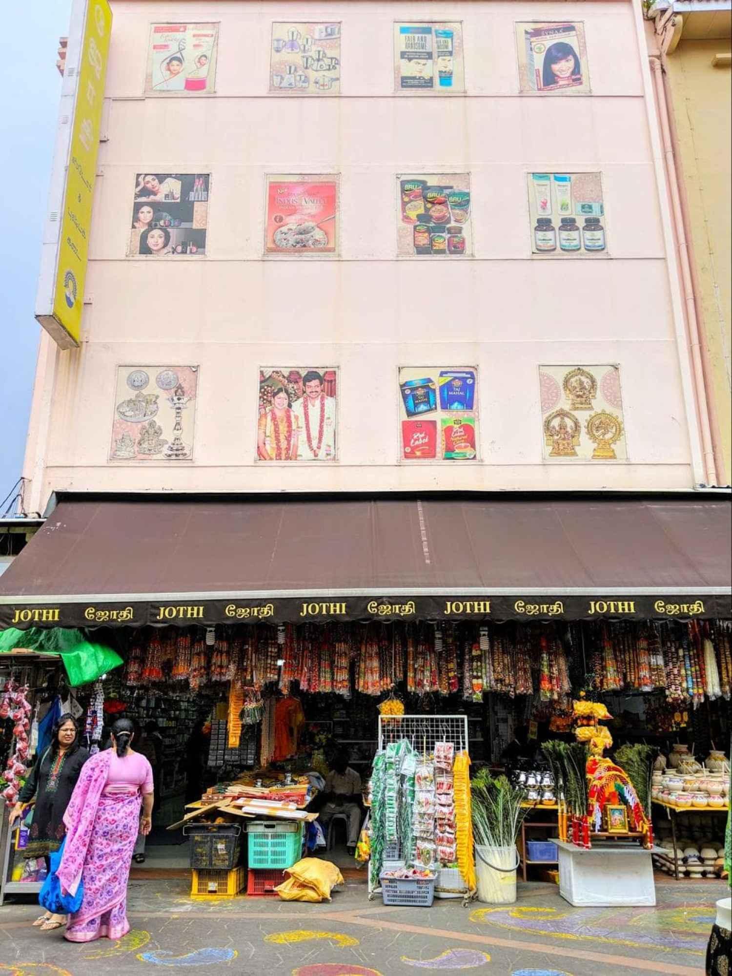 Little India Arcade mural