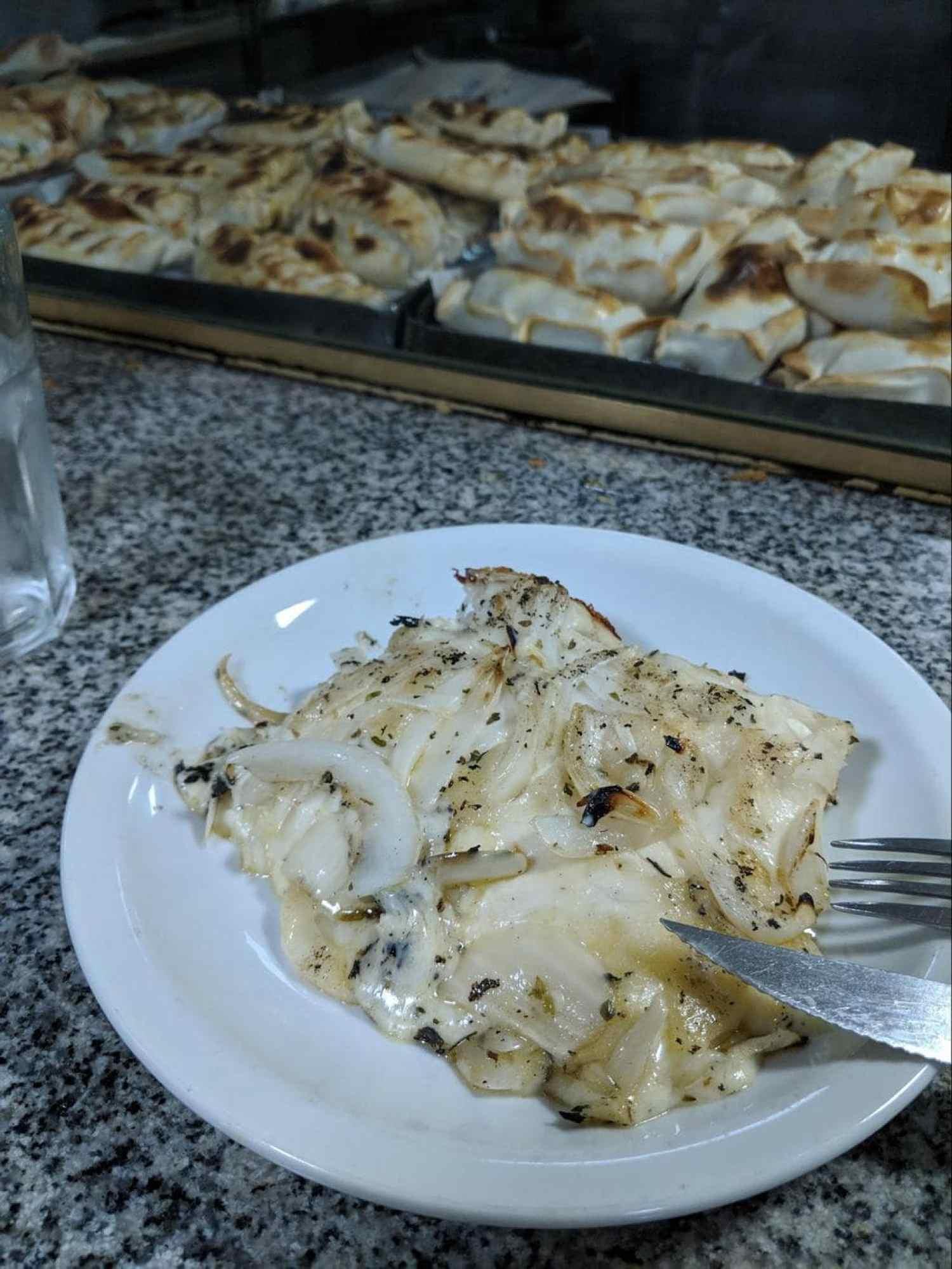 Pizza Fugazzeta in Banchero