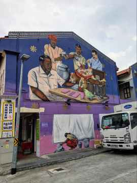 Street murals of Little India 05
