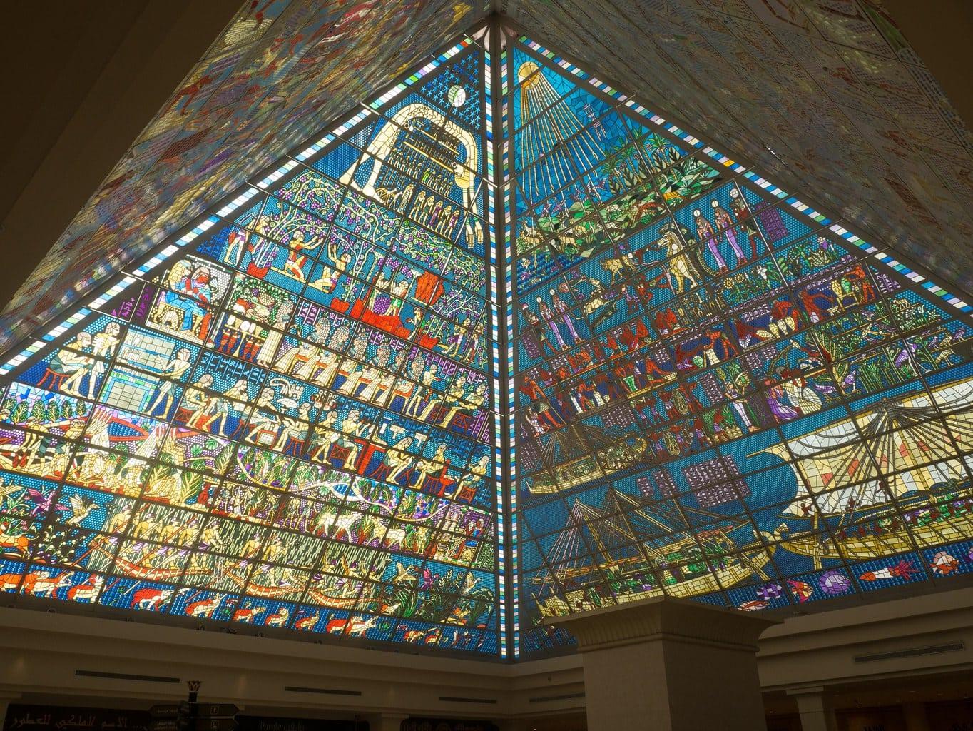 Wafi Mall pyramids