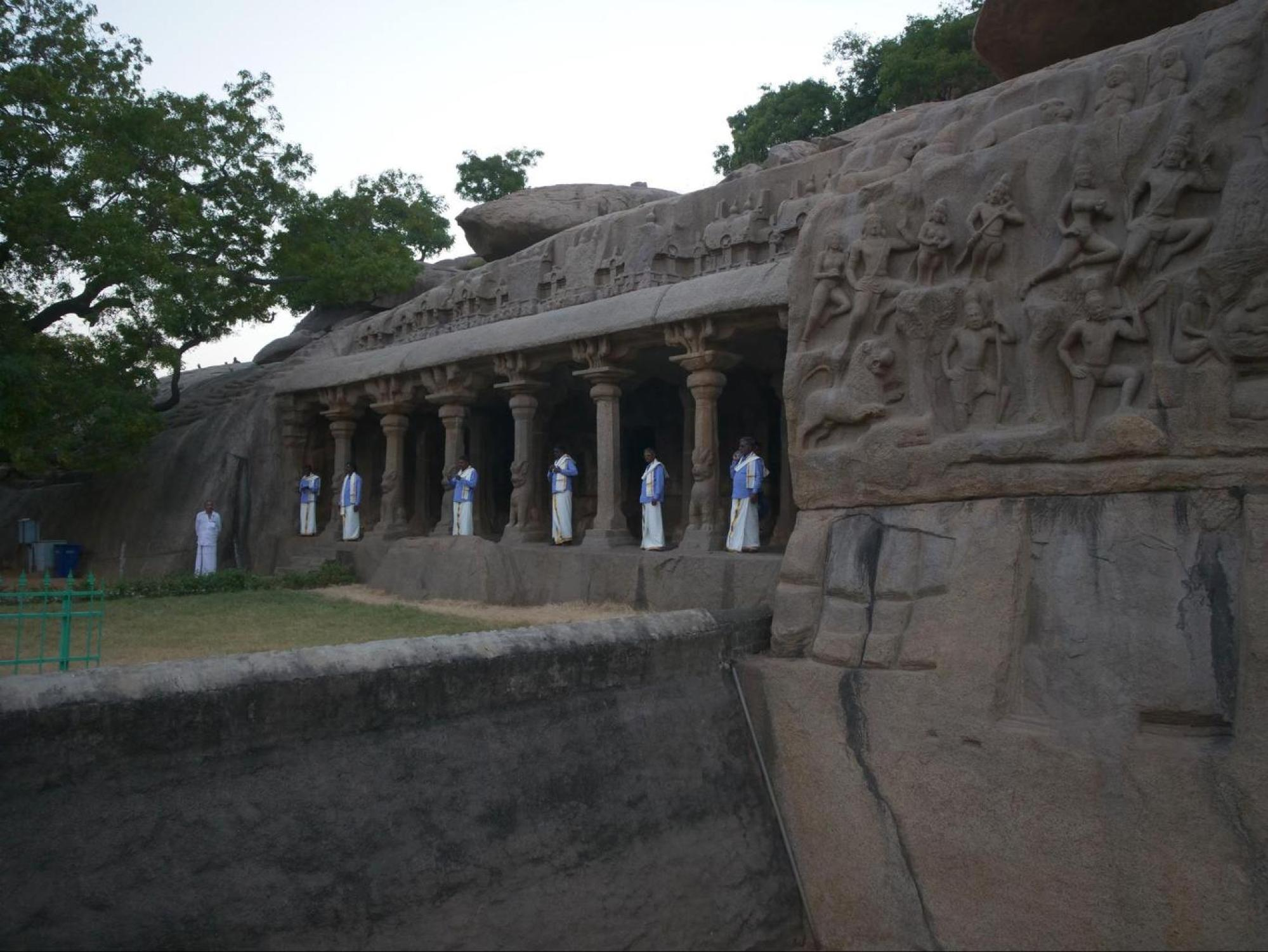 Arjuna's Penance carvings