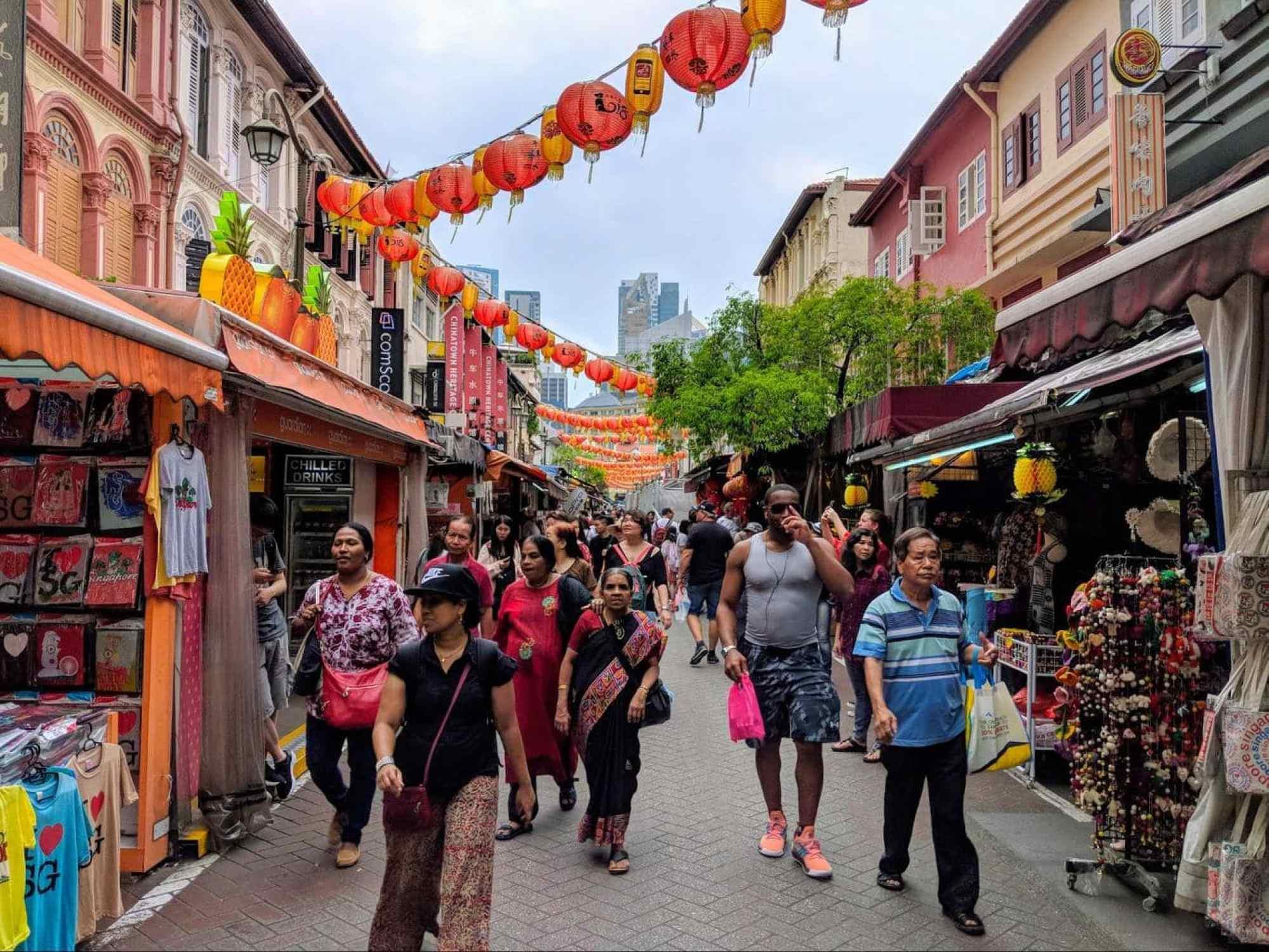 Chinatown Heritage Centre street