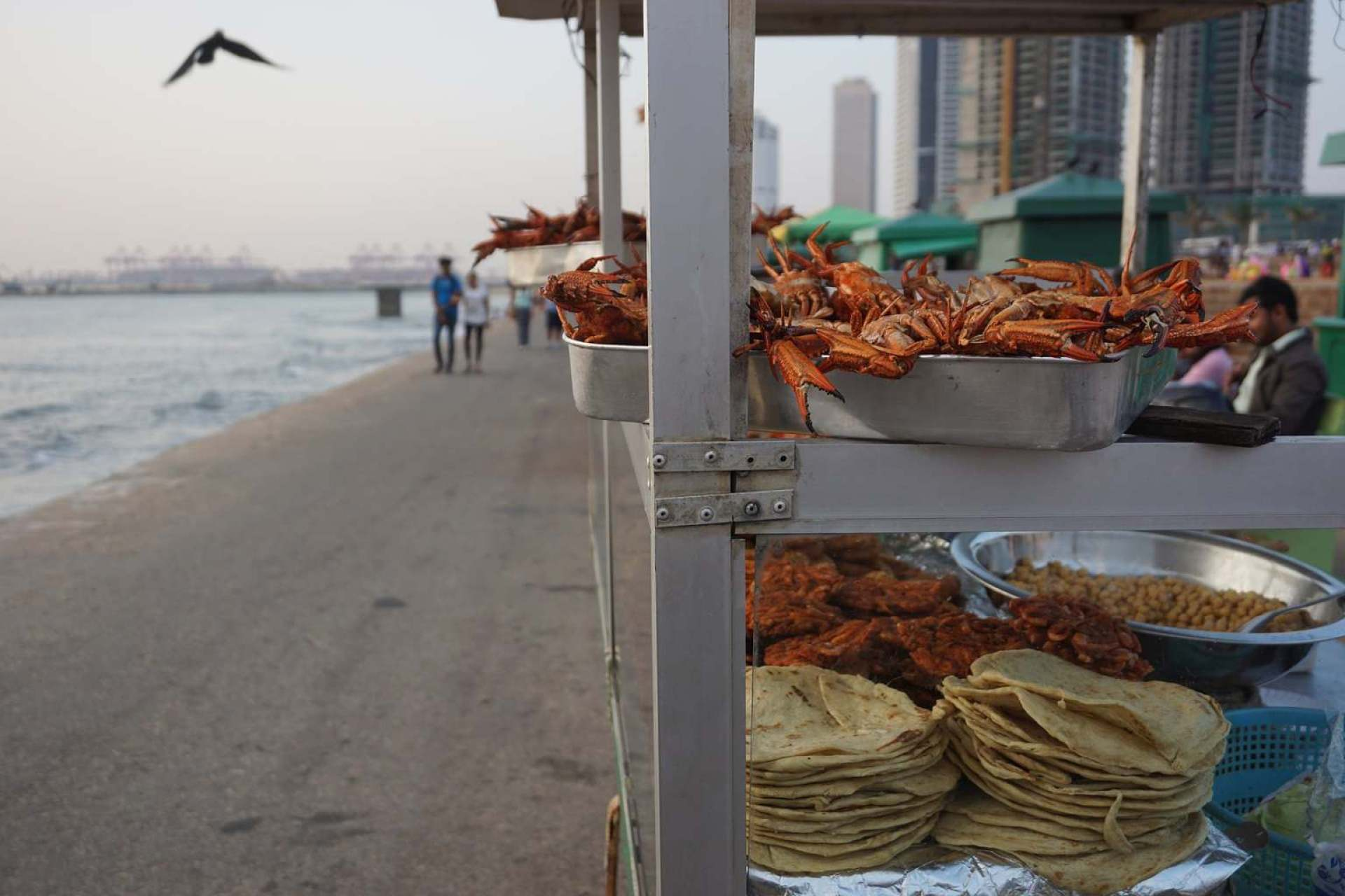 Galle Face Green food