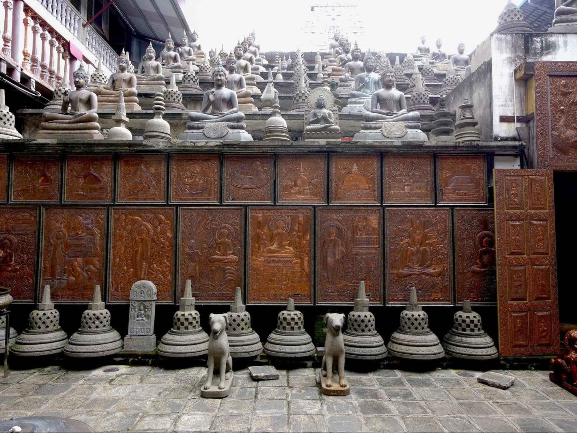Replica of Borobudur Temple