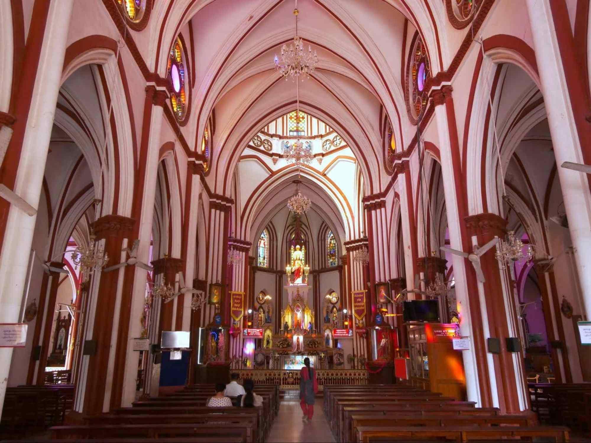 Sacred Heart Basilica interior