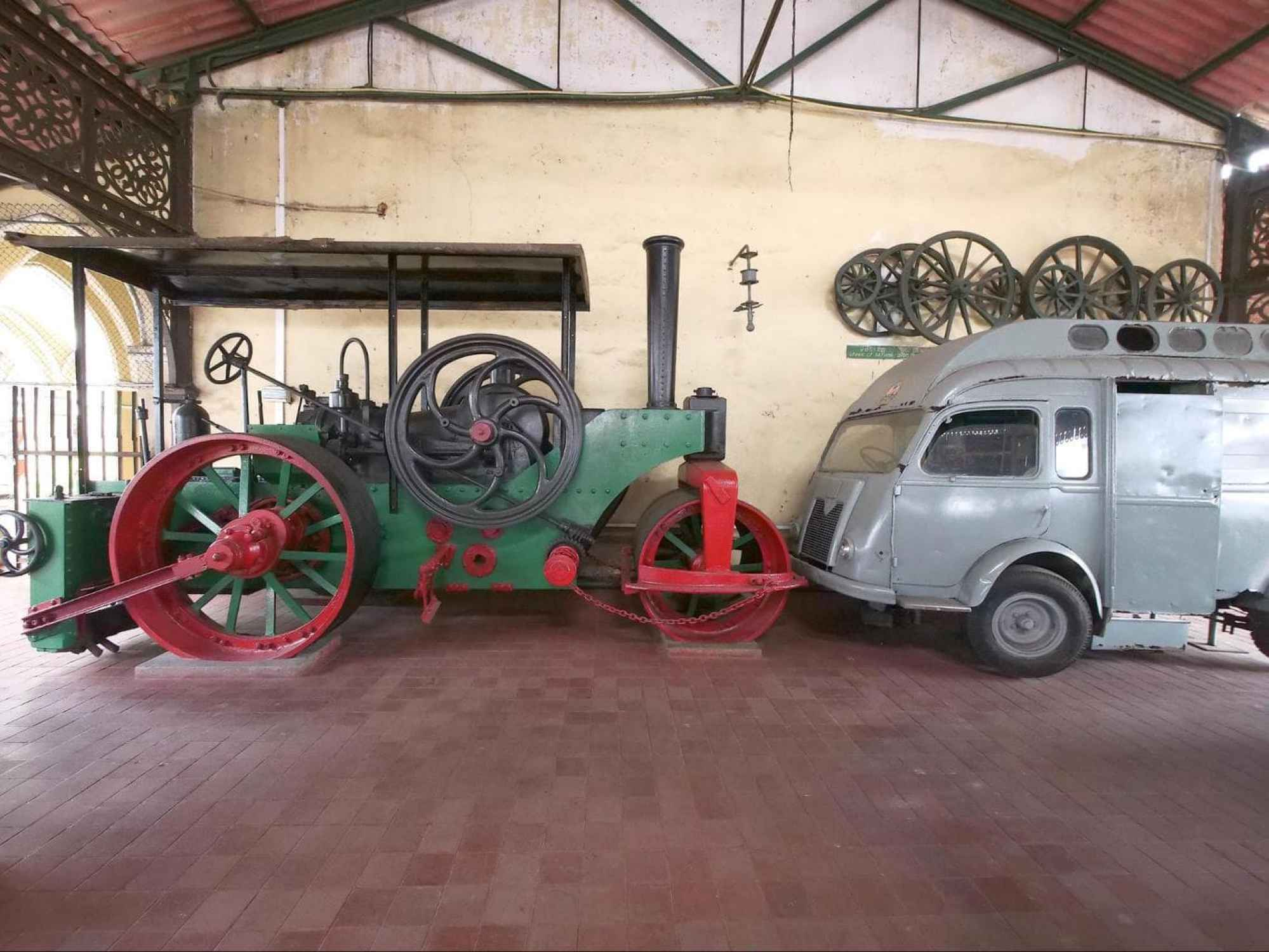 Transport Museum in the The Old Town Hall Building