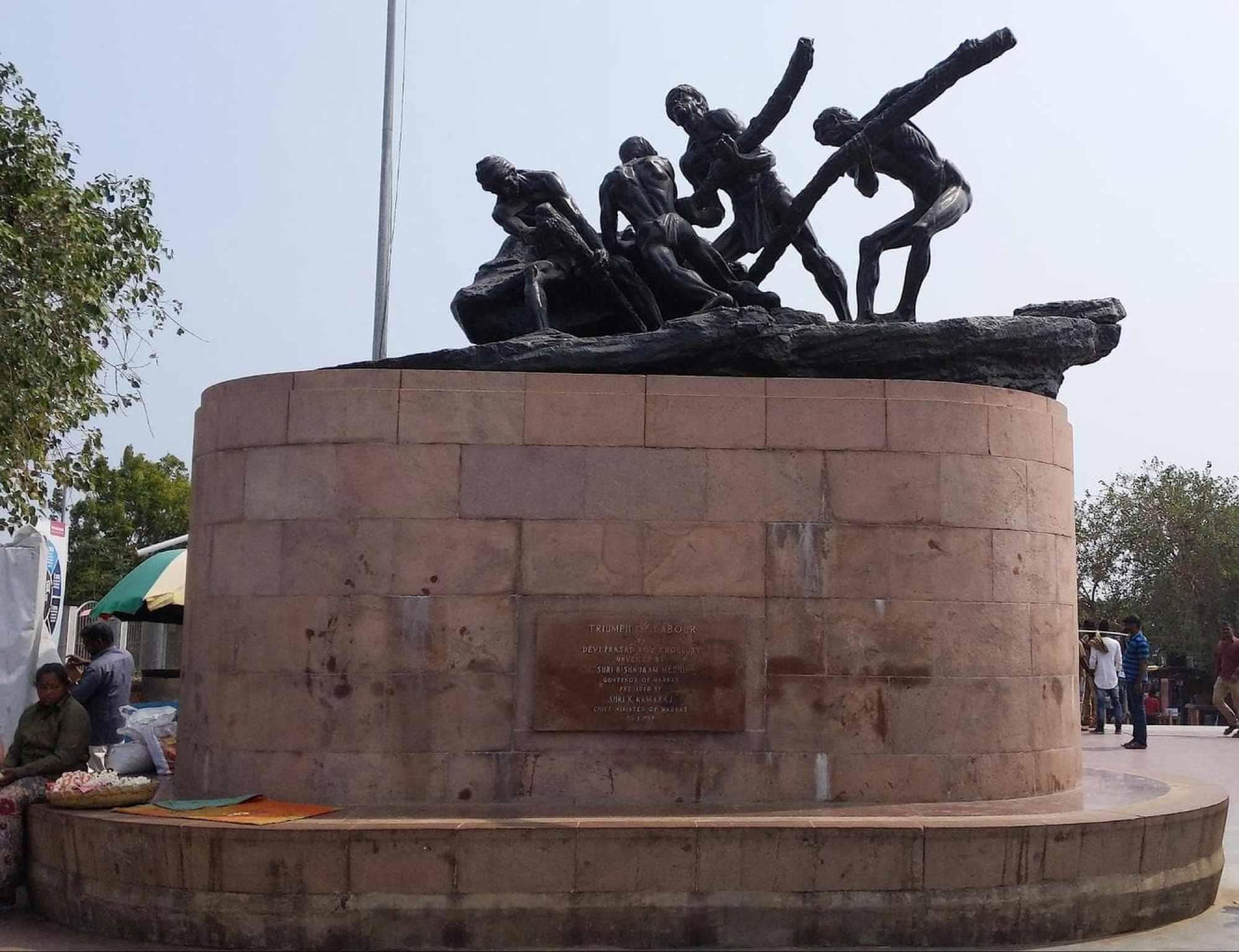 Triumph of Labour Statue