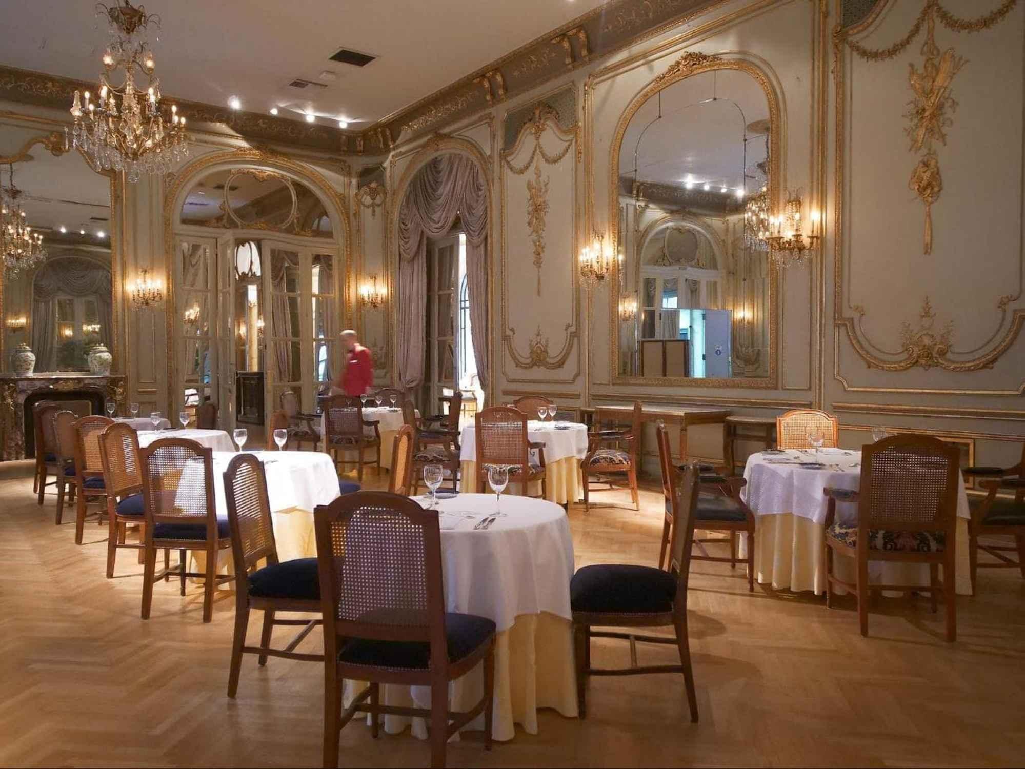 Alvear Palace dining