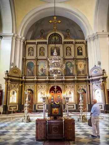 Church of St. Nicholas interior