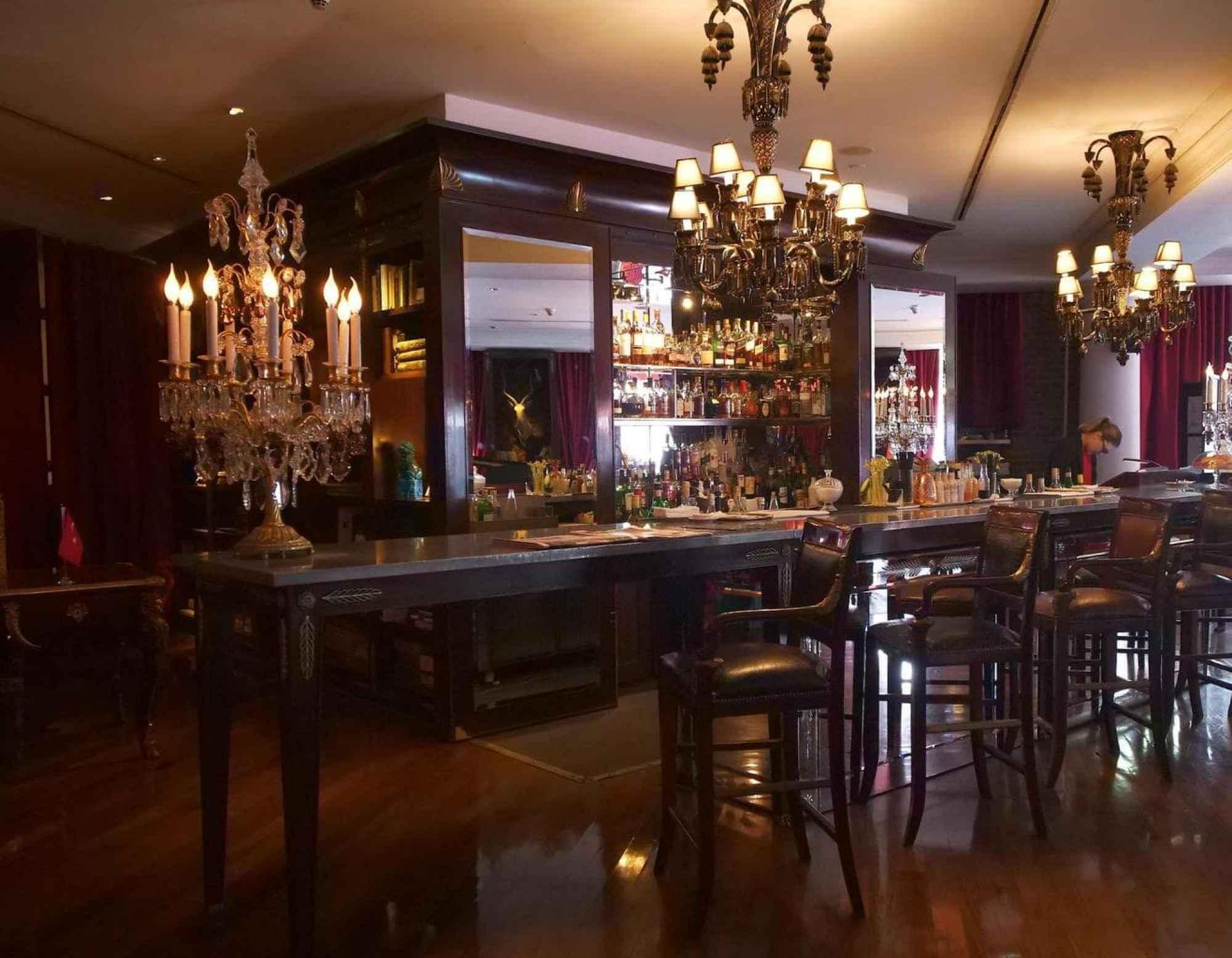 Faena Hotel bar