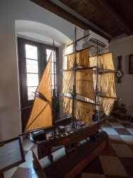 Maritime Museum of Kotor boat replica