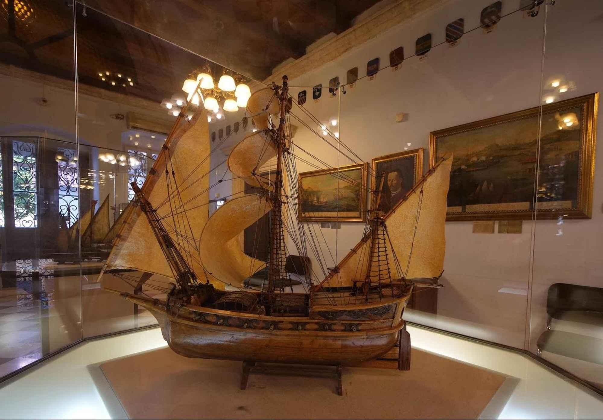 Maritime Museum of Kotor model ship