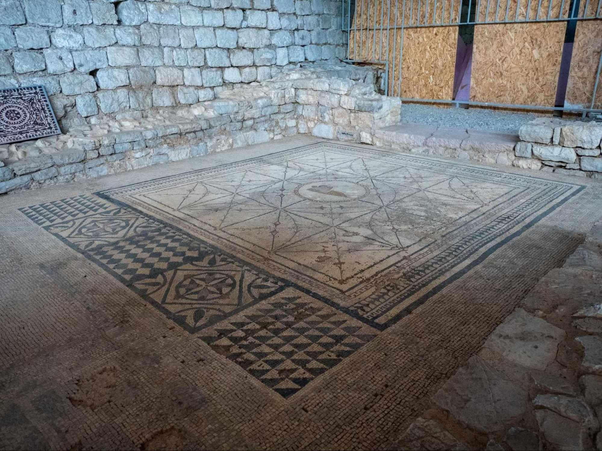 Roman villa of Risan floor mosaics