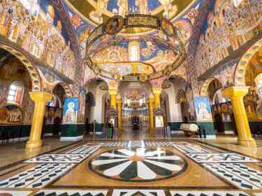 Saint Jovan Vladimir Church in Bar interior