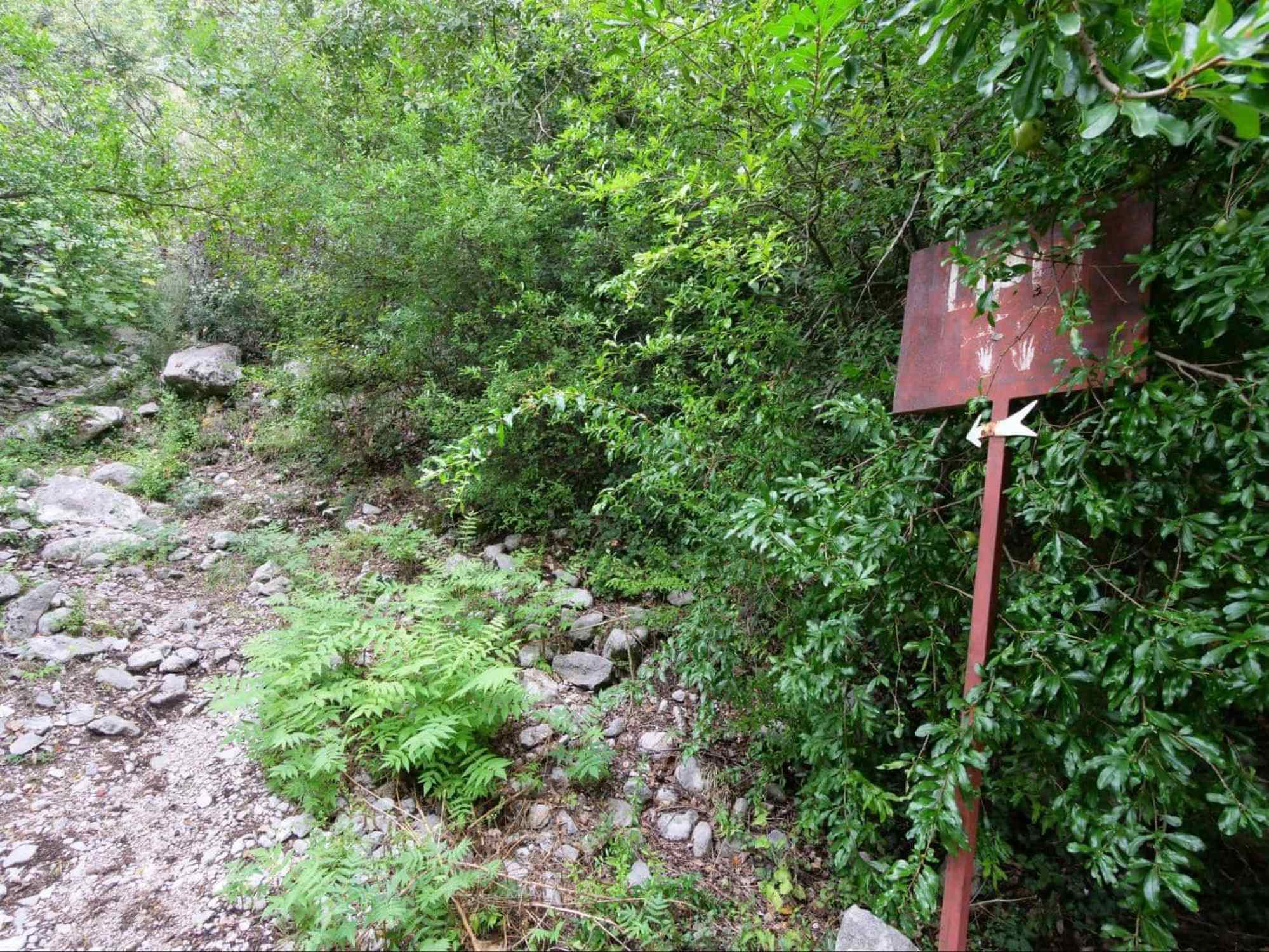 Sign to Lipci Rock drawings