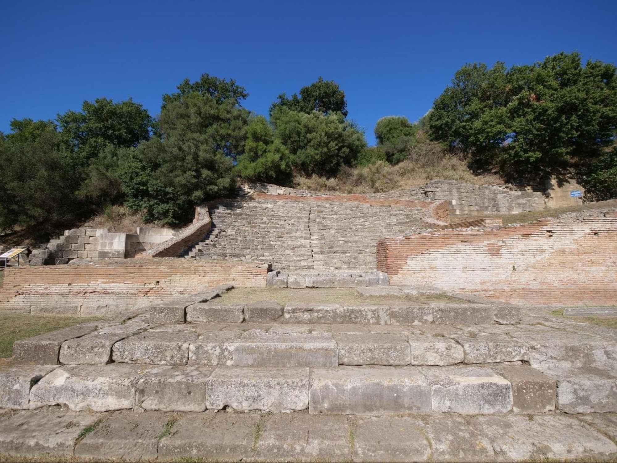The odeon in Apollonia