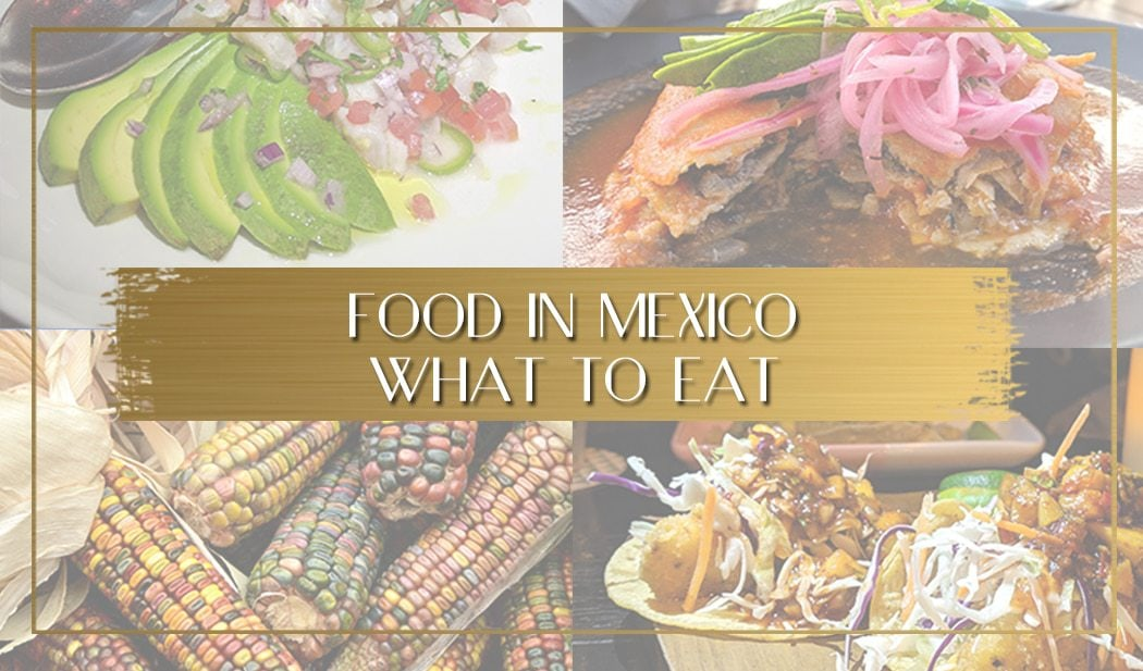 Food in Mexico main