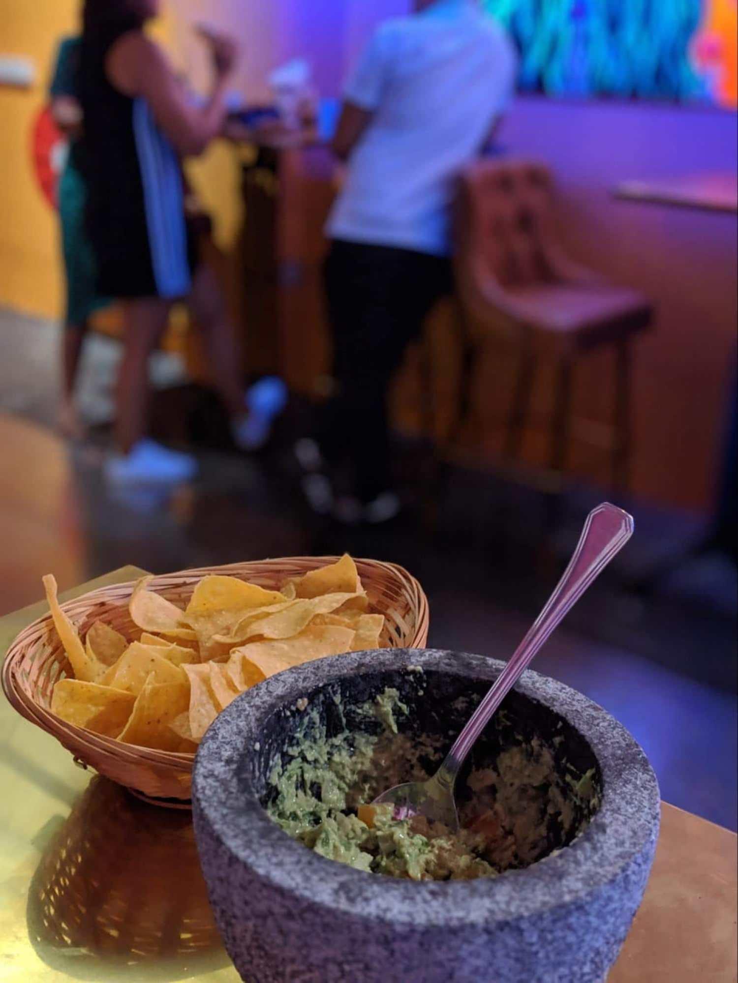 Guacamole is my favorite Mexican food