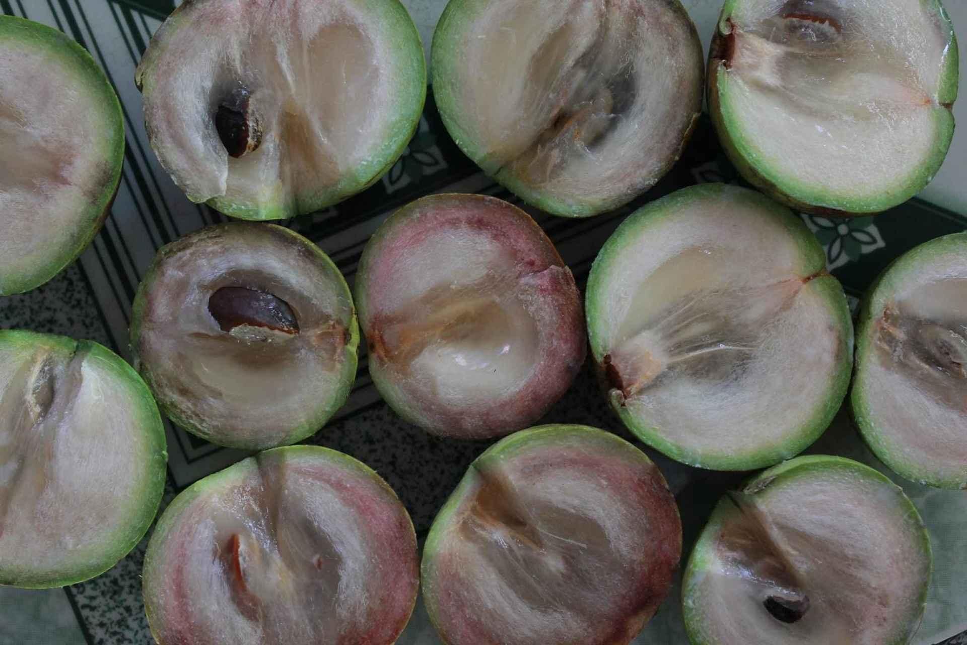 Caimito, a Guatemalan fresh fruit