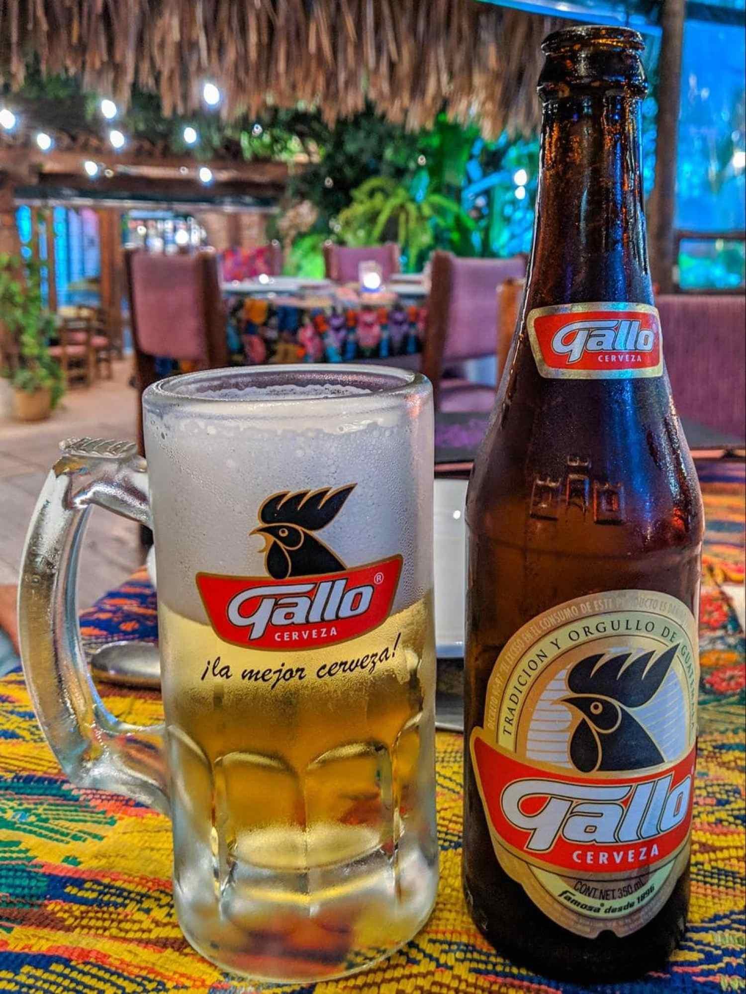 Gallo, Guatemalan beer