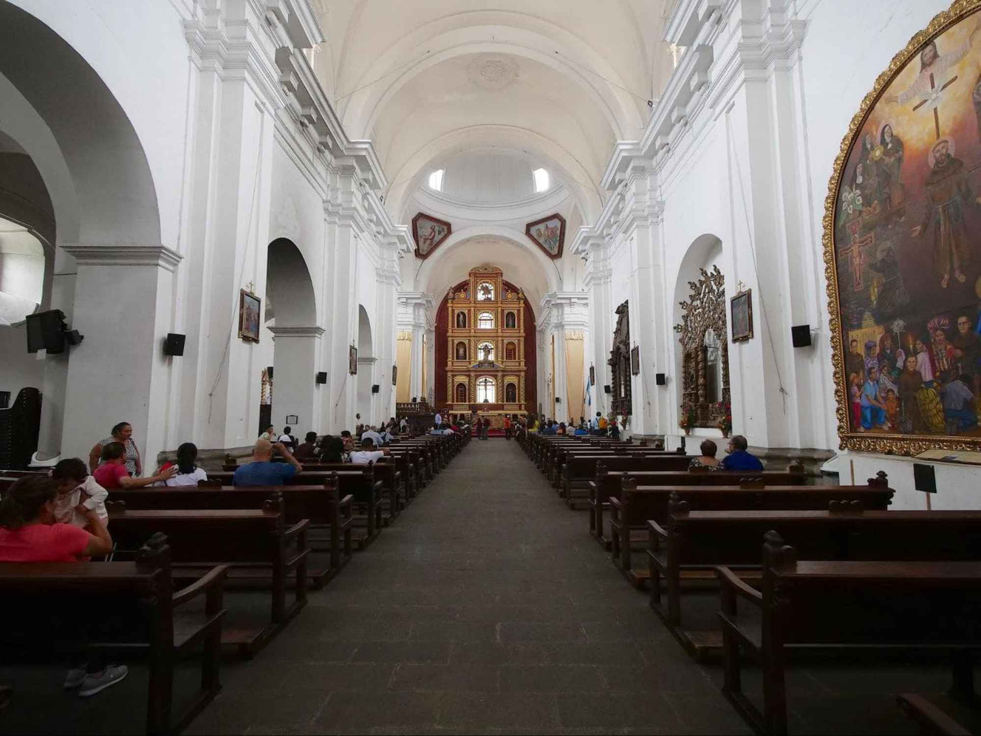 Iglesia de San Francisco interior