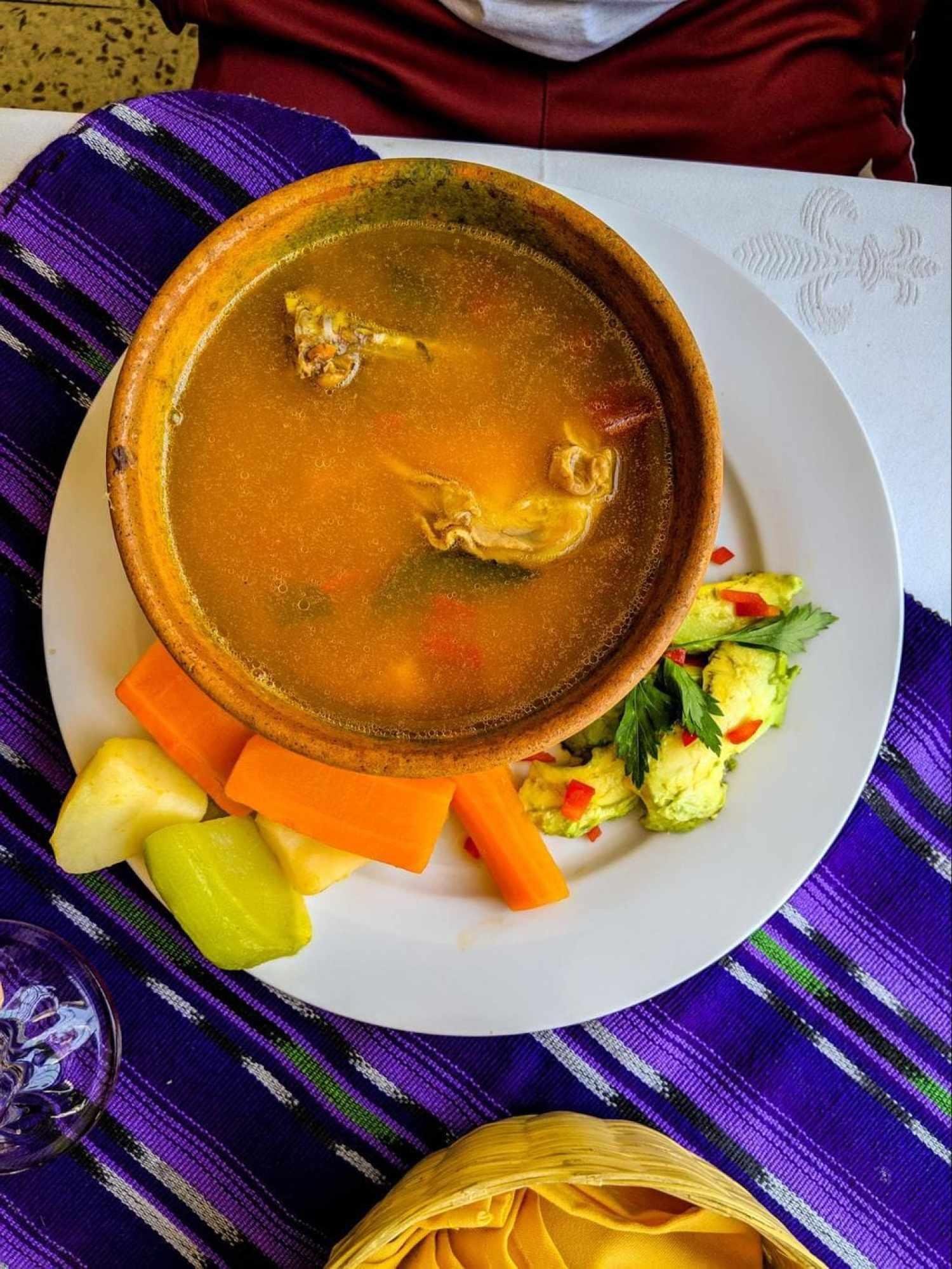 Kak'ik is another Mayan dish